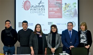 Rubén González, Ramón Neria, Isabel Muela, Nerea Melgosa, Felipe García y Josune Albizu.